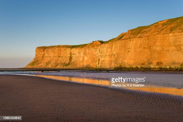 huntcliff, saltburn-by-the-sea, north yorkshire, england - saltburn stock photos and pictures