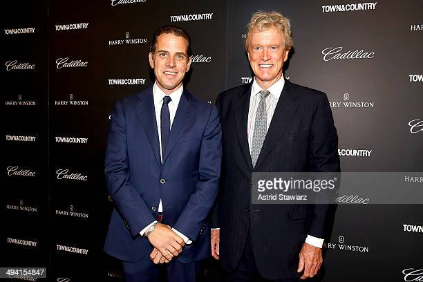 Hunter Biden and Dr Bob Arnot attend the TC Philanthropy Summit with screening of Generosity Of Eye at Lincoln Center with Town Country on May 28...