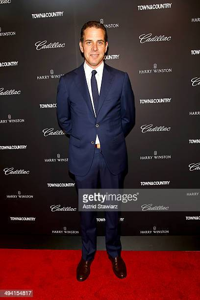 Hunter Biden attends the TC Philanthropy Summit with screening of Generosity Of Eye at Lincoln Center with Town Country on May 28 2014 in New York...
