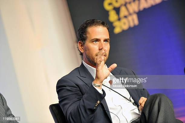 Hunter Biden attends Usher's New Look Foundation World Leadership Conference Awards 2011 Day 3 at Cobb Energy Center on July 22 2011 in Atlanta...