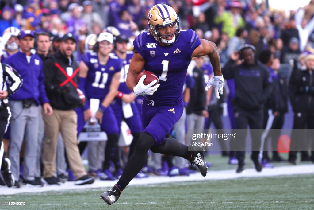 Utah v Washington : News Photo