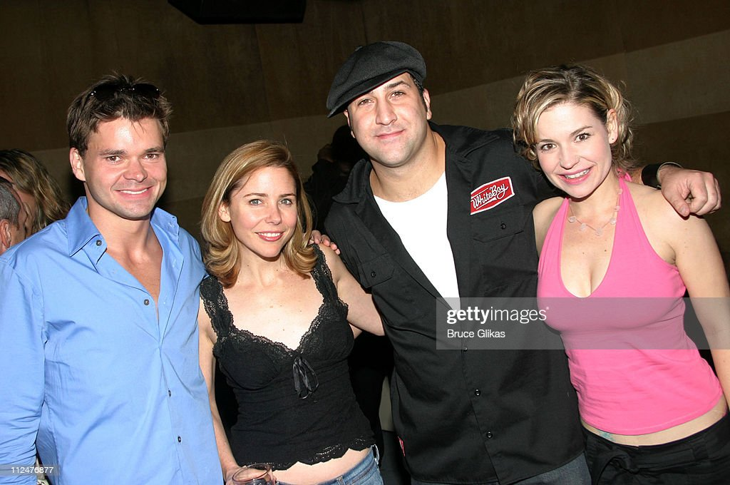 """Joey Fatone Party in Honor of """"Little Shop of Horrors"""" Closing Night Performance on Broadway"""