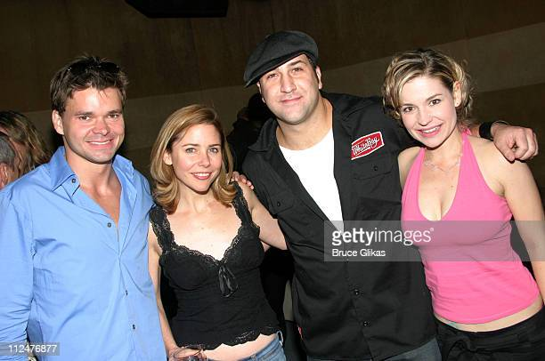 Hunter Foster Kerry Butler Joey Fatone and Jessica Snow Wilson