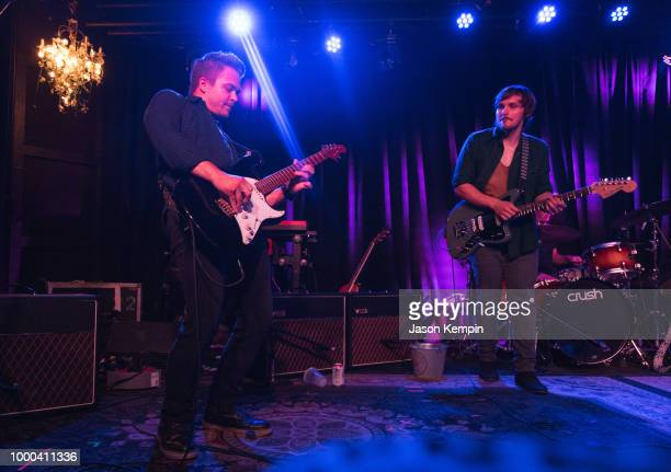 Hunter Hayes and Charlie Worsham perform at The Basement East on July 16 2018 in Nashville Tennessee