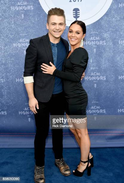 Hunter Hayes and Libby Barnes attend the 11th Annual ACM Honors at the Ryman Auditorium on August 23 2017 in Nashville Tennessee