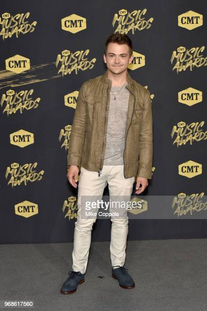Hunter Hayes attends the 2018 CMT Music Awards at Bridgestone Arena on June 6 2018 in Nashville Tennessee