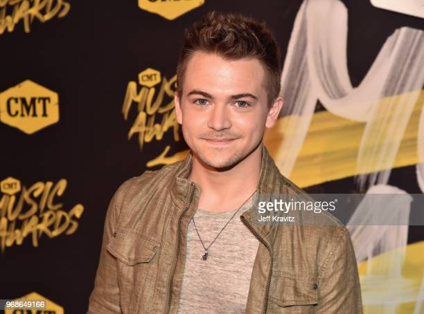 Hunter Hayes attends the 2018 CMT Music Awards at Nashville Municipal Auditorium on June 6 2018 in Nashville Tennessee