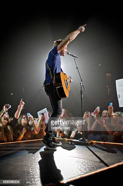 Hunter Hayes performs at Sears Centre Arena on November 21 2014 in Hoffman Estates Illinois