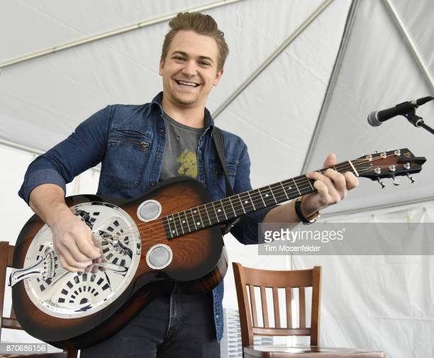 Hunter Hayes performs during Live In The Vineyard 2017 at Peju Winery on November 5 2017 in Rutherford California