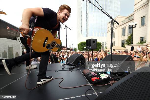 Hunter Hayes performs onstage at the 2014 CMA Festival on June 6, 2014 in Nashville, Tennessee.