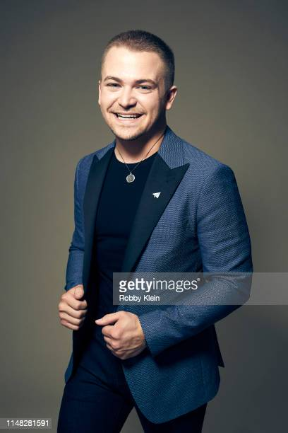 Hunter Hayes poses for a portrait during the 2019 CMT Music Awards at Bridgestone Arena on June 05 2019 in Nashville Tennessee