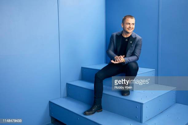 Hunter Hayes poses for a portrait during the 2019 CMT Music Awards at Bridgestone Arena on June 5 2019 in Nashville Tennessee