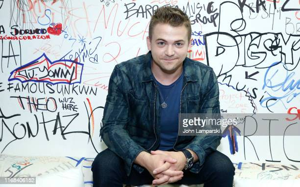 Hunter Hayes visits Music Choice on August 16 2019 in New York City