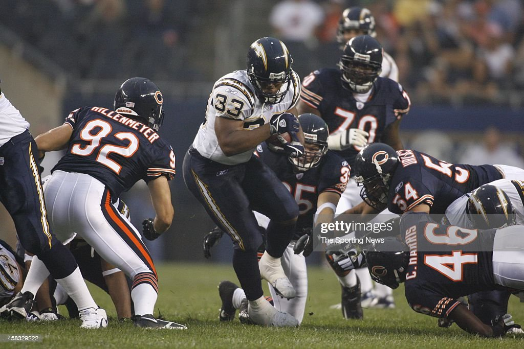 San Diego Chargers vs Chicago Bears : News Photo