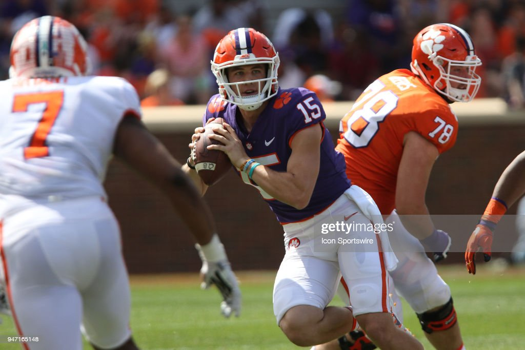 COLLEGE FOOTBALL: APR 14 Clemson Spring Game : News Photo