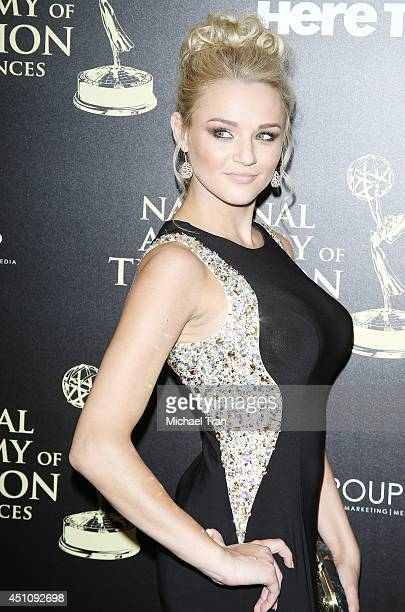 Hunter King arrives at the 41st Annual Daytime Emmy Awards held at The Beverly Hilton Hotel on June 22 2014 in Beverly Hills California