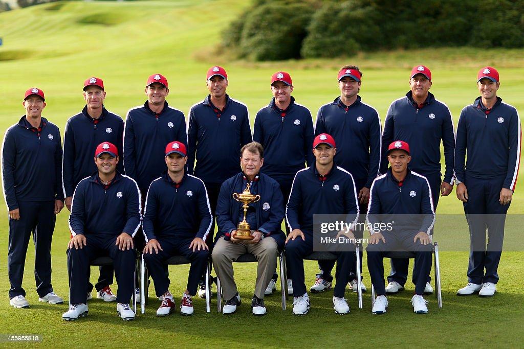USA Team Photocall - 2014 Ryder Cup : News Photo