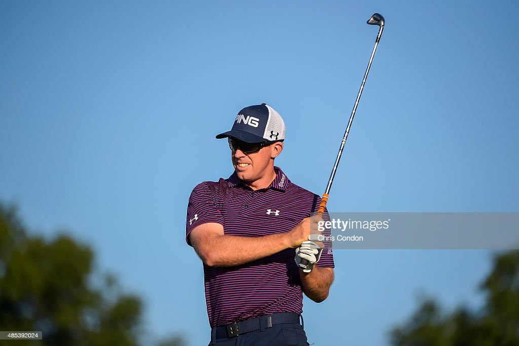 The Barclays - Round One : News Photo