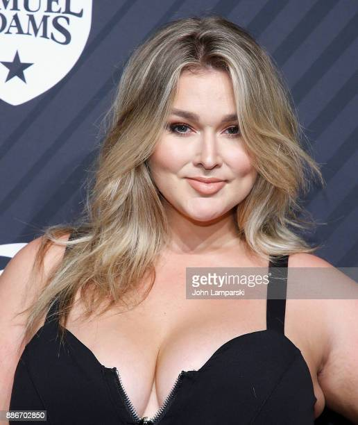 Hunter McGrady attends 2017 Sports Illustrated Sportsperson of the Year Awards at Barclays Center on December 5 2017 in New York City