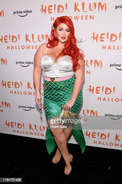Hunter McGrady attends Heidi Klum's 20th Annual Halloween Party presented by Amazon Prime Video and SVEDKA Vodka at Cathédrale New York on October 31...