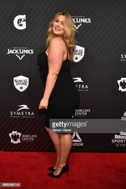 Hunter McGrady attends SPORTS ILLUSTRATED 2017 Sportsperson of the Year Show on December 5 2017 at Barclays Center in New York City Tune in to NBCSN...