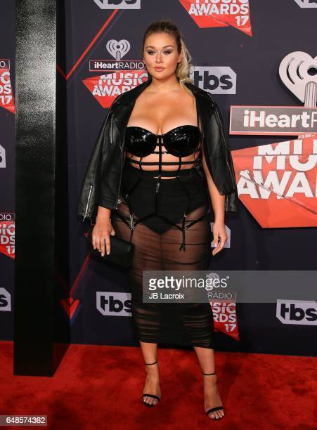 Hunter McGrady attends the 2017 iHeartRadio Music Awards at The Forum on March 5 2017 in Inglewood California