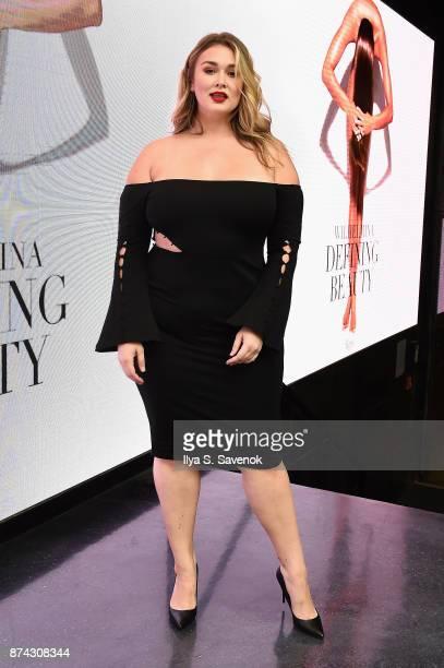 Hunter McGrady attends the 50th anniversary celebration of Wilhelmina with cohost Patti Hansen on November 14 2017 in New York City