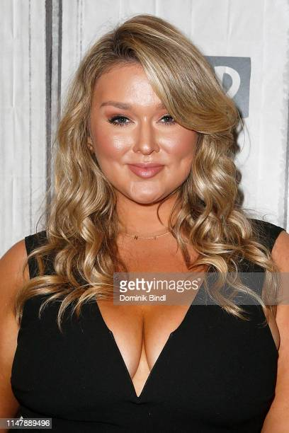 Hunter McGrady attends the Build Series to discuss '2019 Sports Illustrated Swimsuit Issue' at Build Studio on May 08 2019 in New York City