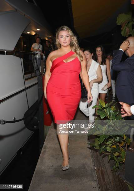 Hunter Mcgrady attends the Sports Illustrated Swimsuit 2019 Issue Launch at Seaspice on May 10 2019 in Miami Florida