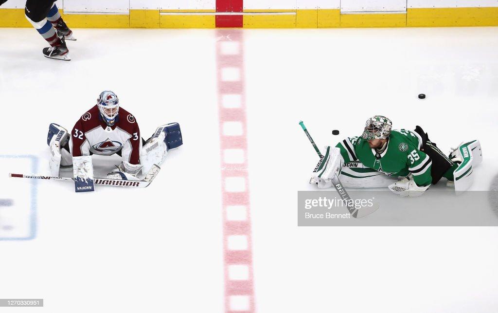 Colorado Avalanche v Dallas Stars - Game Six : News Photo