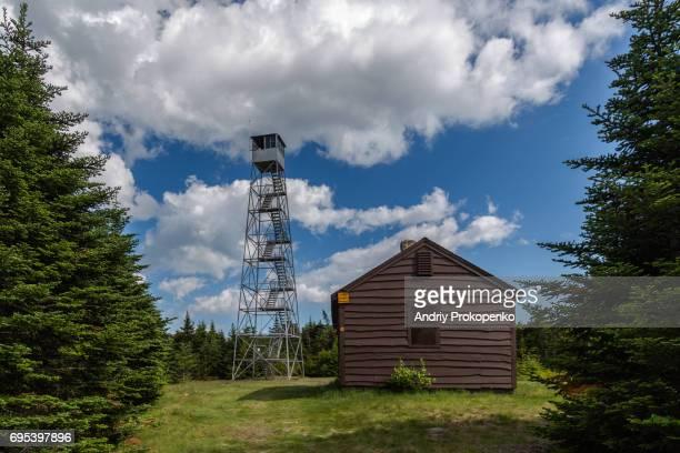 Uitkijktoren stockfoto 39 s en beelden getty images for Cabins near hunter mountain