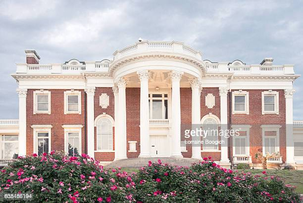 hunter museum chattanooga tennessee southern edwardian mansion architecture - chattanooga stock pictures, royalty-free photos & images