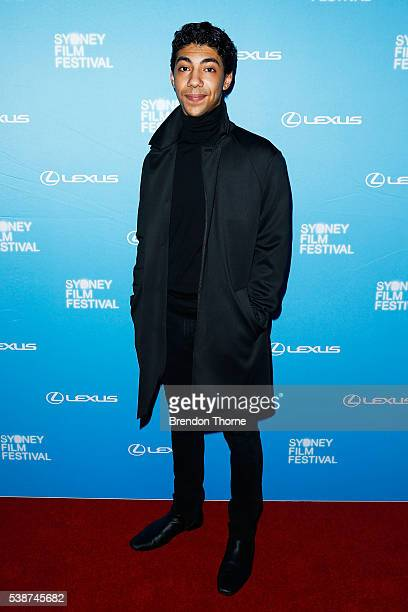 Hunter PageLochard arrives ahead of the Sydney Film Festival Opening Night Gala at State Theatre on June 8 2016 in Sydney Australia