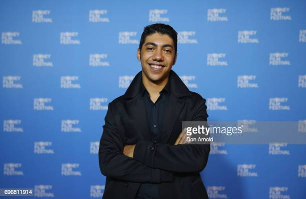 Hunter PageLochard arrives ahead of the world premiere of Cleverman 2 during the Sydney Film Festival on June 17 2017 in Sydney Australia