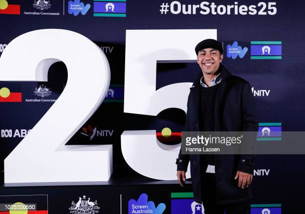 Hunter PageLochard attends the 25th Anniversary of Screen Australia's Indigenous Department at Carriageworks on August 30 2018 in Sydney Australia