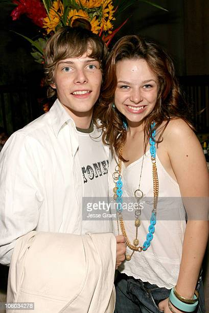 Hunter Parrish and Joy Lauren during Weeds Season Two Premiere After Party at RenMar Studios in Hollywood California United States