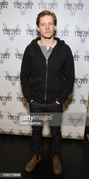 Hunter Parrish attends the Cast photo call for the Vineyard Theatre production of Good Grief on September 12 2018 at the Vineyard Theatre in New York...