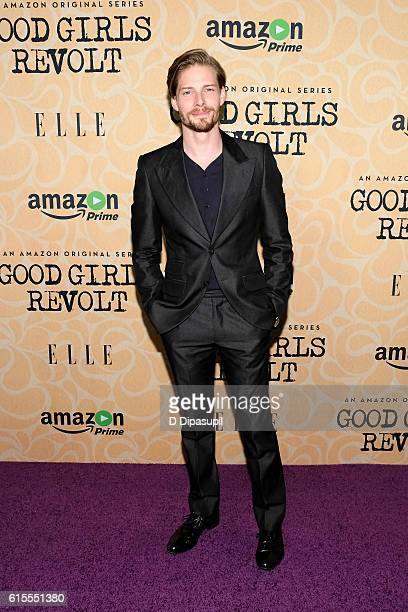 Hunter Parrish attends the Good Girls Revolt New York screening at the Joseph Urban Theater at Hearst Tower on October 18 2016 in New York City