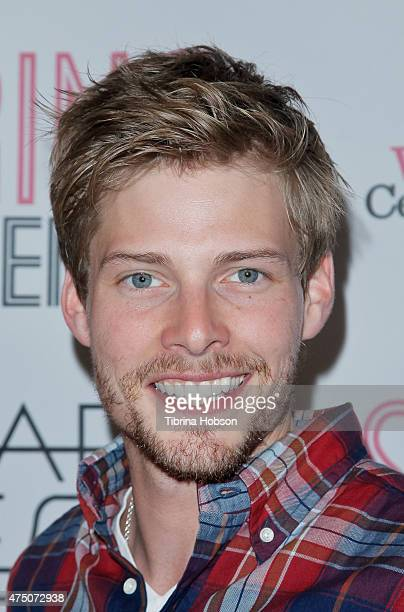 Hunter Parrish attends the opening night of Deaf West Theatre's 'Spring Awakening' at Wallis Annenberg Center for the Performing Arts on May 28 2015...