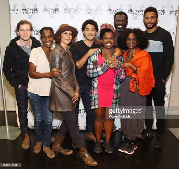 Hunter Parrish director Awoye Timpo Lisa Ramirez Ian Quinlan playwright and star Ngozi Anyanwu Oberon KA Adjepong Patrice Johnson Chevannes and...