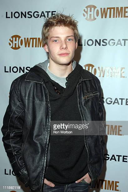 Hunter Parrish during Showtime Golden Globes Party at Sunset Tower Hotel in West Hollywood CA United States