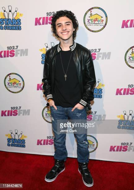 Hunter Payton attends A Place Called Home's Annual Stars And Strikes Celebrity Bowling And Poker Tournament at PINZ Bowling & Entertainment Center on...