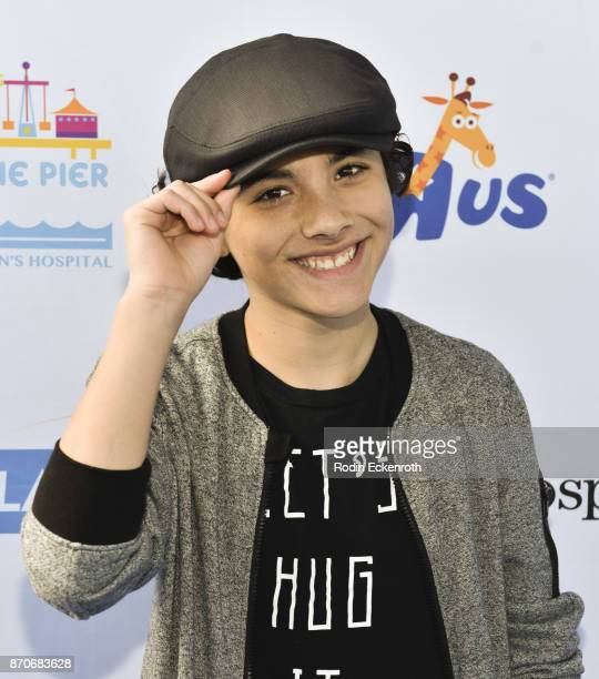 Hunter Payton attends the 18th Annual Mattel Party on the Pier at Pacific Park on Santa Monica Pier on November 5 2017 in Santa Monica California