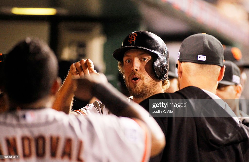 Wild Card Game - San Francisco Giants v Pittsburgh Pirates : News Photo
