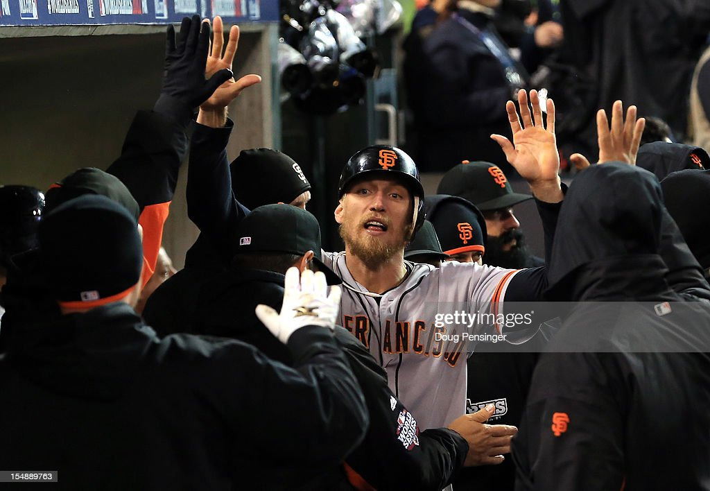 World Series - San Francisco Giants v Detroit Tigers - Game 4 : News Photo