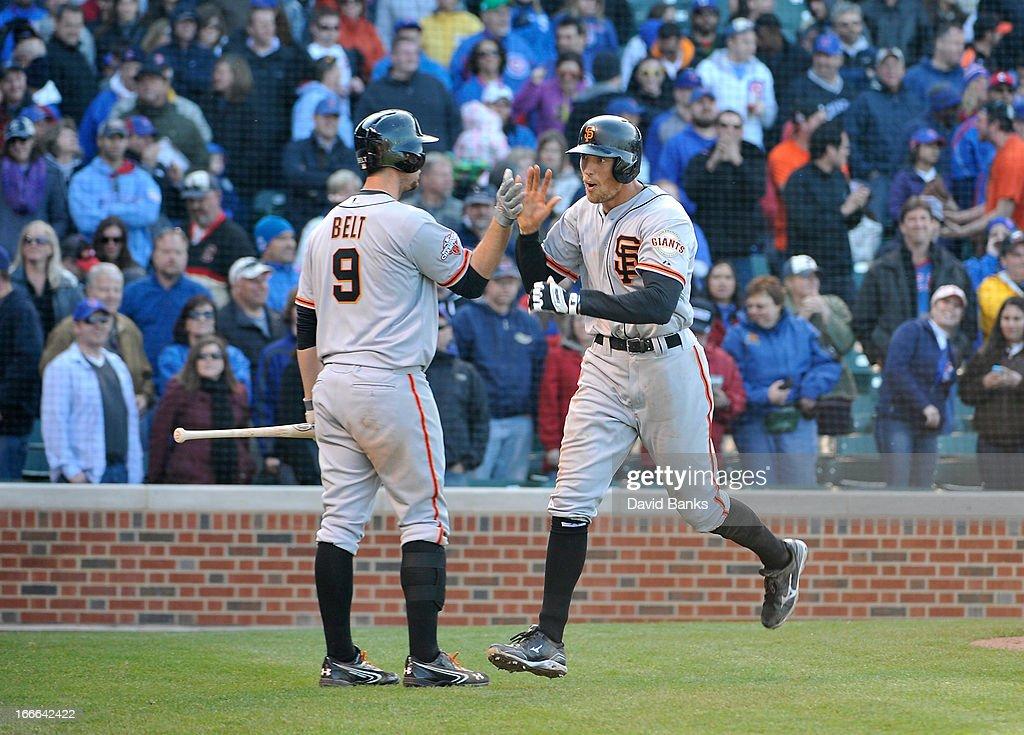 San Francisco Giants v Chicago Cubs : News Photo