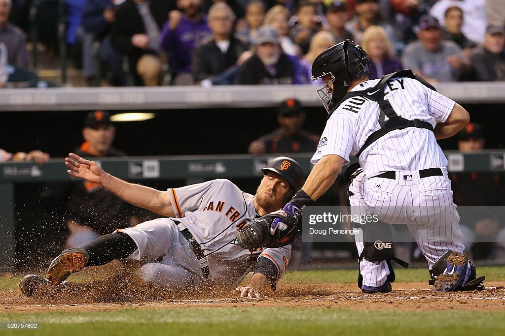 San Francisco Giants v Colorado Rockies : News Photo