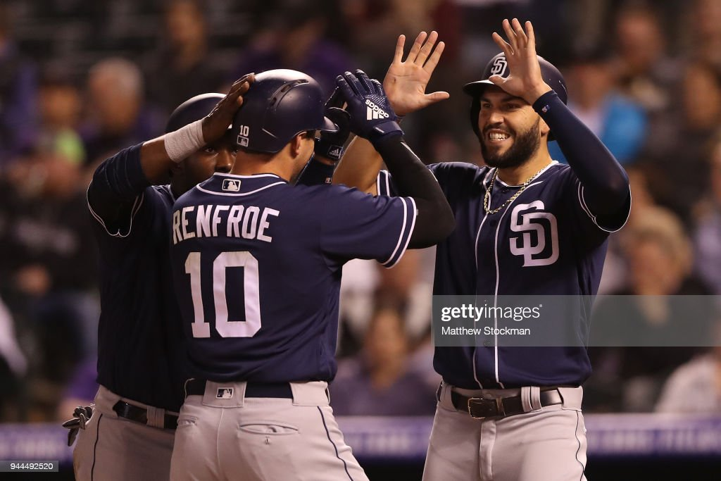 San Diego Padres v Colorado Rockies
