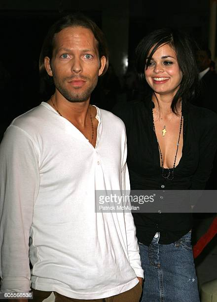 """Hunter Richards and Lina Esco attend Jessica Biel at the """"London"""" Premiere at Arclight Theatre on January 13, 2006 in Hollywood, CA."""