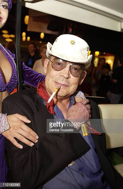 Hunter S Thompson during CineVegas Film Festival 2003 Screening Of Breakfast With Hunter at The Palms Casino Resort in Las Vegas Nevada